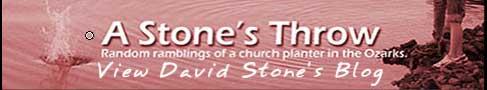 Goodbye stonesthrowblog.com, Hello pastordavidstone.com!