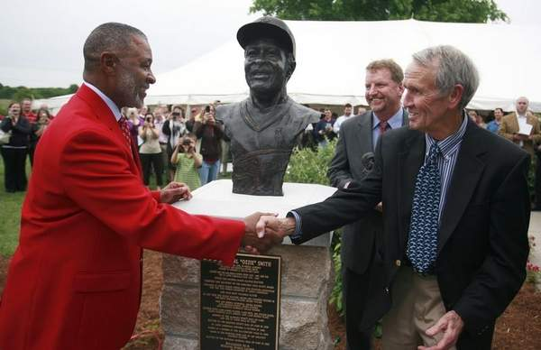 Ozzie Smith honored as Missouri Sports Legend