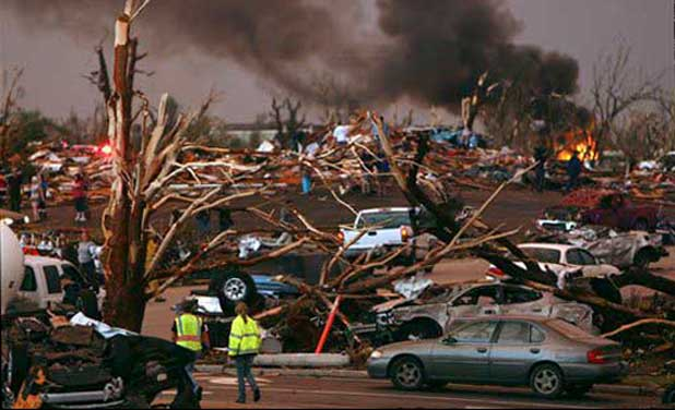 Where The Streets Have No Name-Joplin Tornado