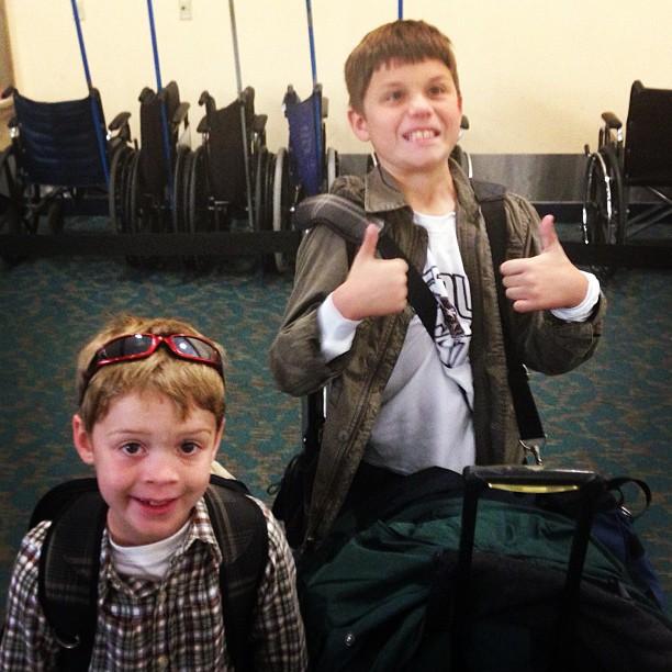 Leavin' on a jet plane!