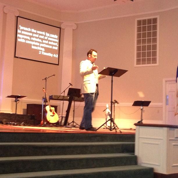 Pastor @ChuckMielke
