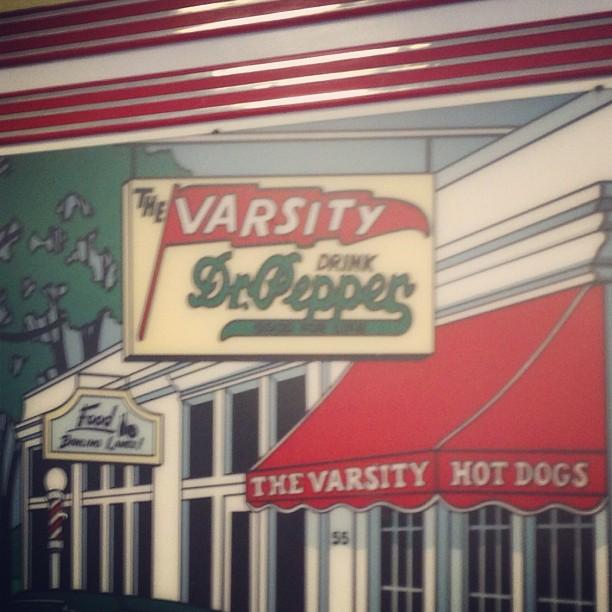 The Varsity! Mmmm!