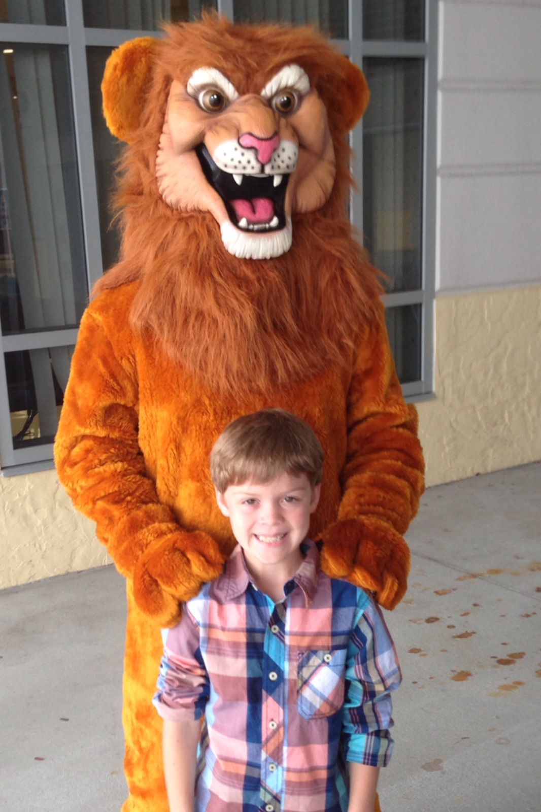Tuck and Jake, The Journey Lion #easter2014