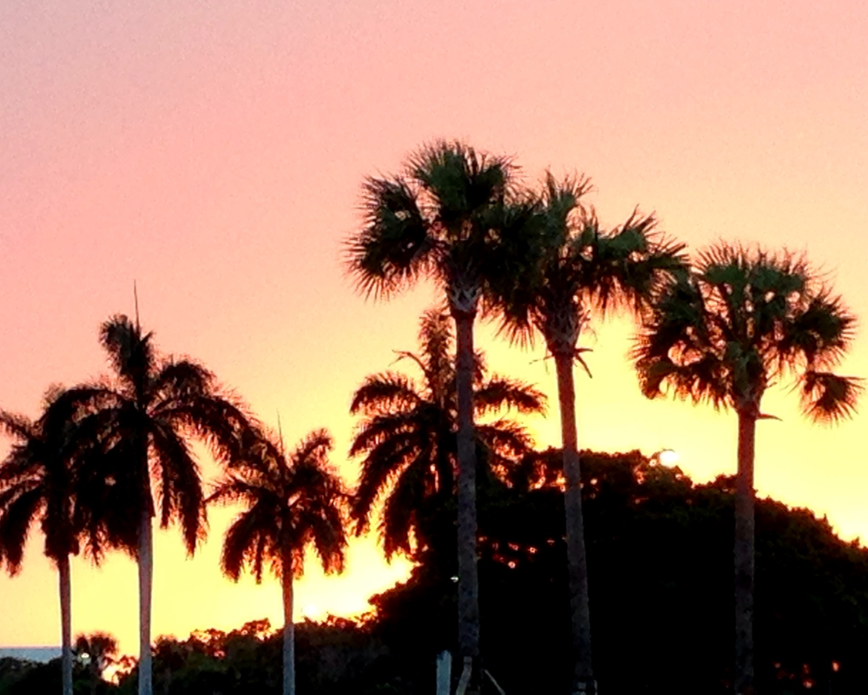 Beautiful Boca Sunset!