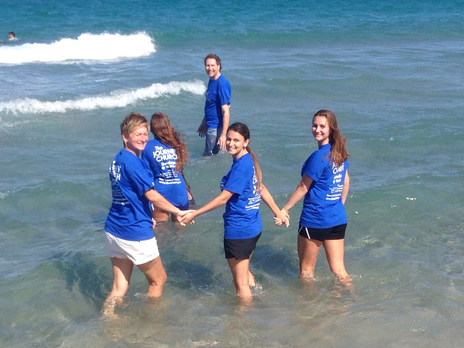 Beach Baptism 2014 @ The Journey