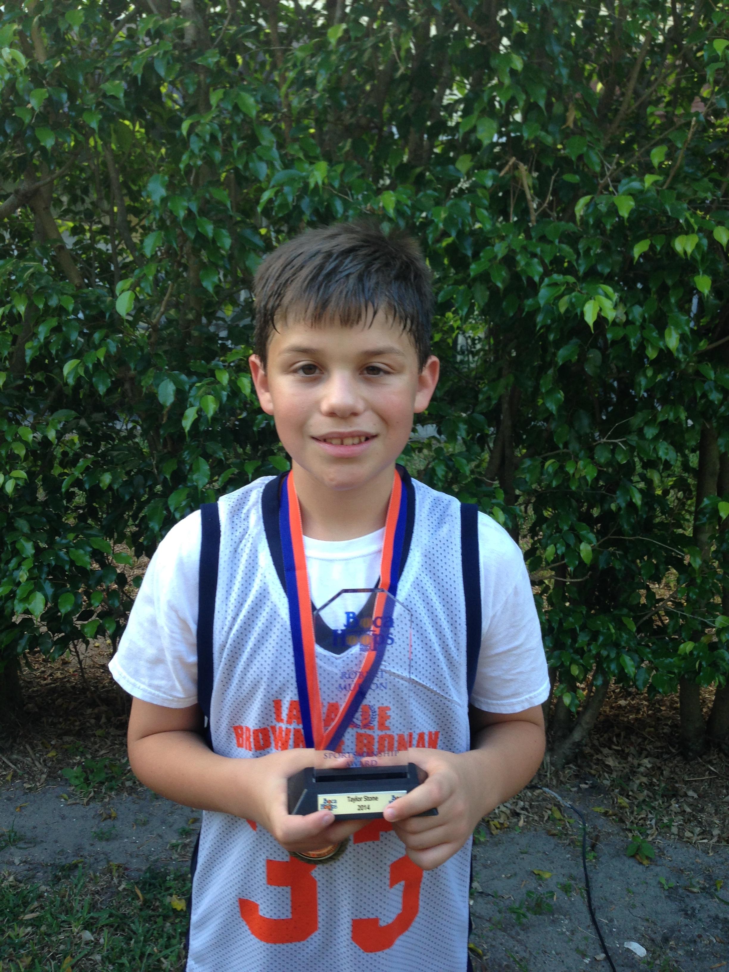 Robert Mufson Sportsmanship Award