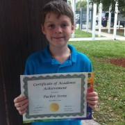 Academic Achievement Award for Tuck! #insertsnarkycommentabouthowhegetshissmartsfromhismother