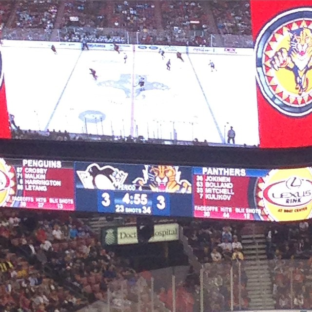 Sudden Death Overtime @FlaPanthers @penguins