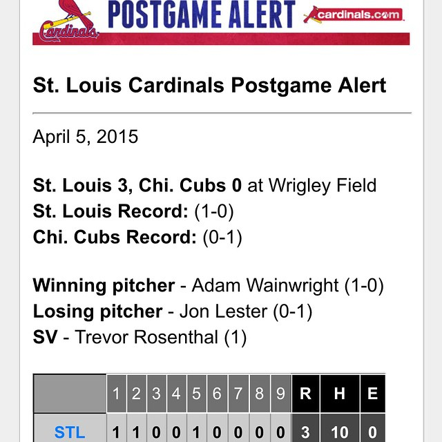 That's a Winner! #STL #Cards