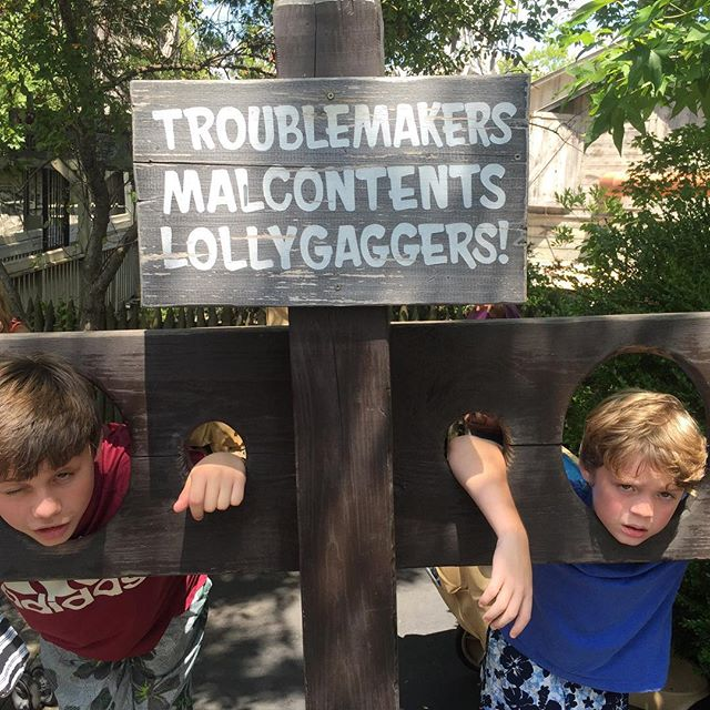 Troublemakers, Malcontents, & Loligaggers
