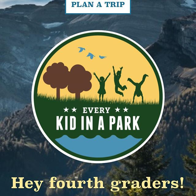 FREE ANNUAL PASS to our National Parks for 4th graders AND their families! #roadtrip